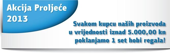 Akcija proljeće 2013 - Svakom kupcu poklon