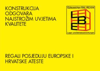 Regali / police posjeduju europske i hrvatske ateste